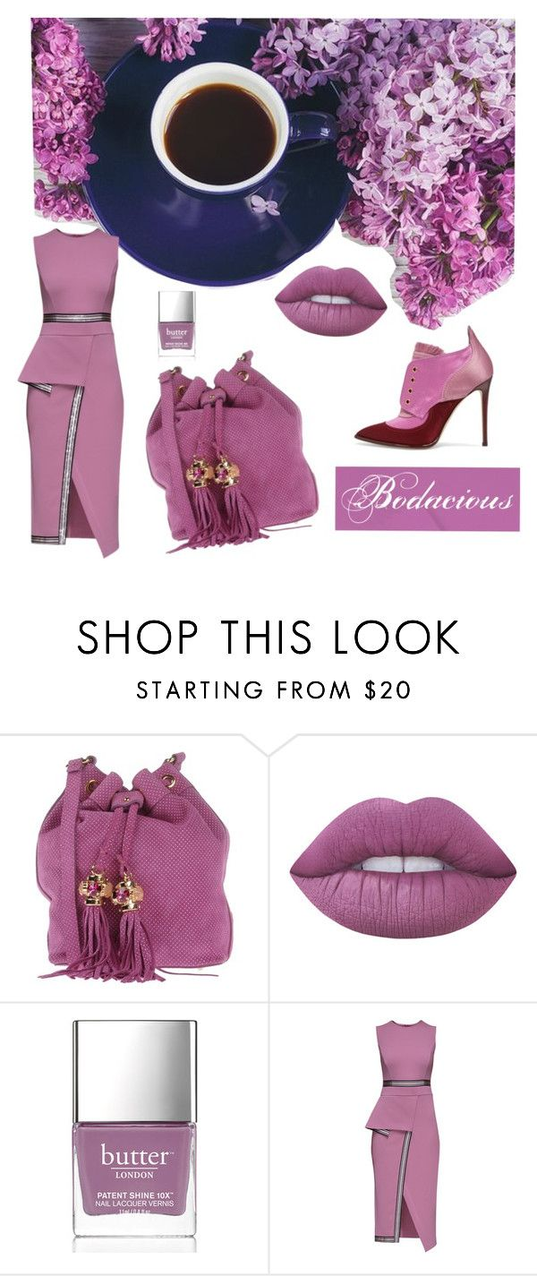 """""""Pantone 2016: Bodacious"""" by marlea-z-wilson on Polyvore featuring Argento Antico, Lime Crime, Butter London, Lattori, Jimmy Choo, pantone and bodacious"""