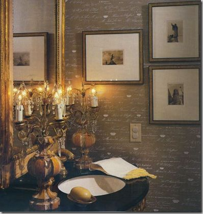 576 Best Images About Powder Rooms On Pinterest