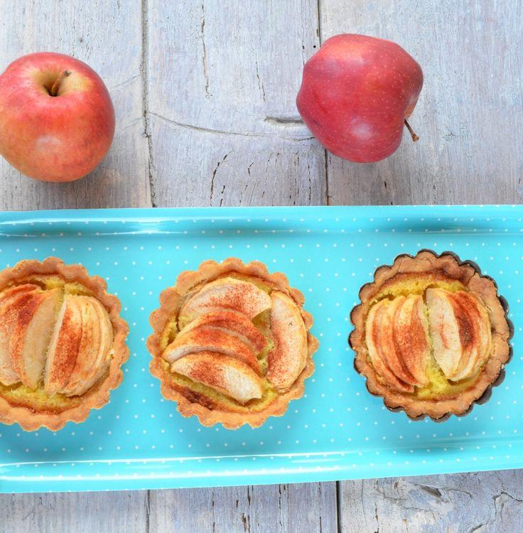 Almás frangipane minitorták (gluténmentes) - Receptek | Ízes Élet - Gasztronómia a mindennapokra