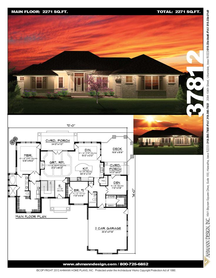 37812 in 2020 house plans hip roof house styles
