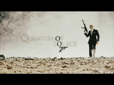 JAMES BOND - QUANTUM OF SOLACE --- Ein Quantum Trost