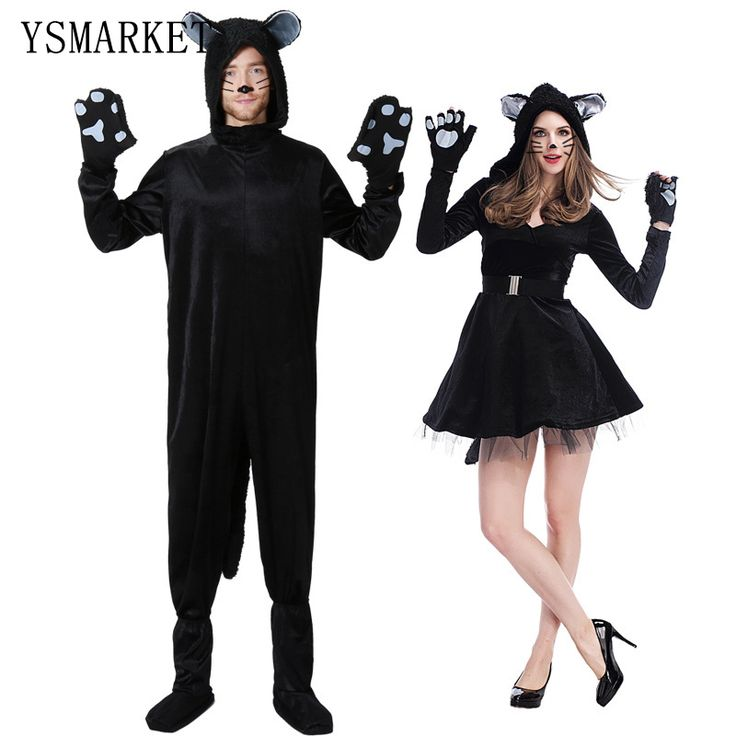 2017 Adult Woman Couples Costumes New Sexy Plus Size Catwoman Cosplay Cat Costumes Fancy Dress Loose Mens Party Jumpsuit H9289 #Sexy Cat Halloween Costumes http://www.ku-ki-shop.com/shop/sexy-cat-halloween-costumes/2017-adult-woman-couples-costumes-new-sexy-plus-size-catwoman-cosplay-cat-costumes-fancy-dress-loose-mens-party-jumpsuit-h9289/