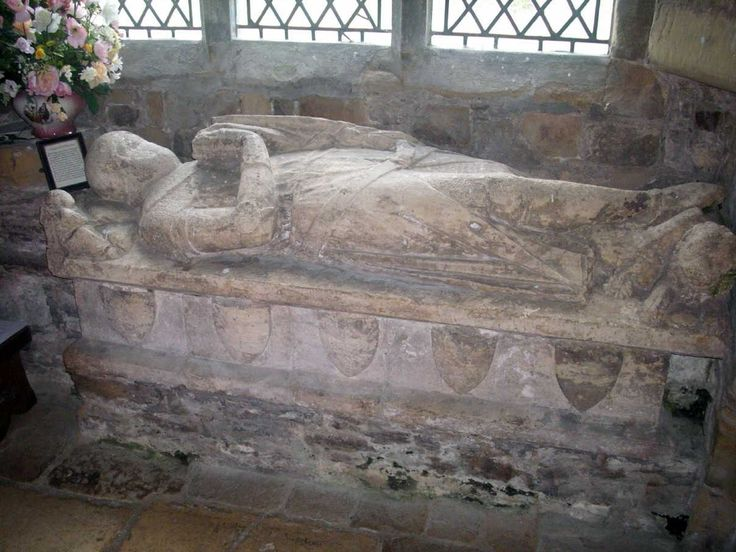 Edmund Thweng 1280–1344 Birth 1280 • Malton North Riding, Yorkshire, England Death 1344 OCT 15 • Malton North Riding, Yorkshire, England 19th great-grandfather. Burial: Sheriff Hutton, Ryeda St. Helen and the Holy Cross Churchyard, Sheriff Hutton, North Yorkshire, England. Wife: Isabel Constable