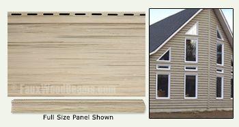 Vinyl Log Cabin Siding | Enhance a Home with Fake Logs