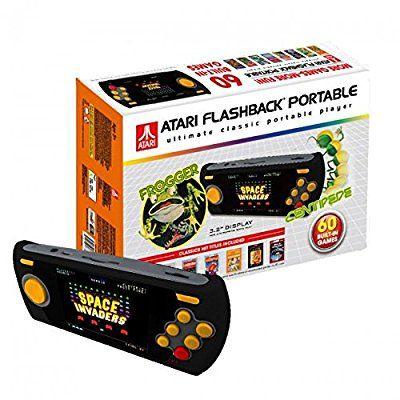 Atari Flashback 7 Portable Handheld console with 60 retro games inc. Frogger, Centipede.