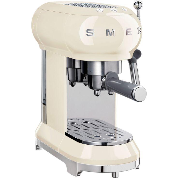 ECF01CRUK_CR   Smeg filter coffee machine   Cream   ao.com