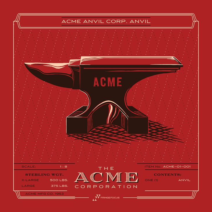 the acme corporation poster