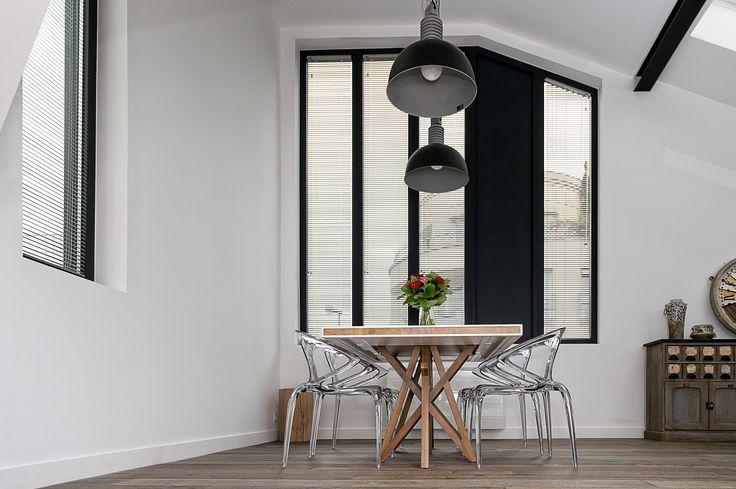 ch ssis en aluminium en couleur gris noir r alisation de belisol versailles belisol. Black Bedroom Furniture Sets. Home Design Ideas