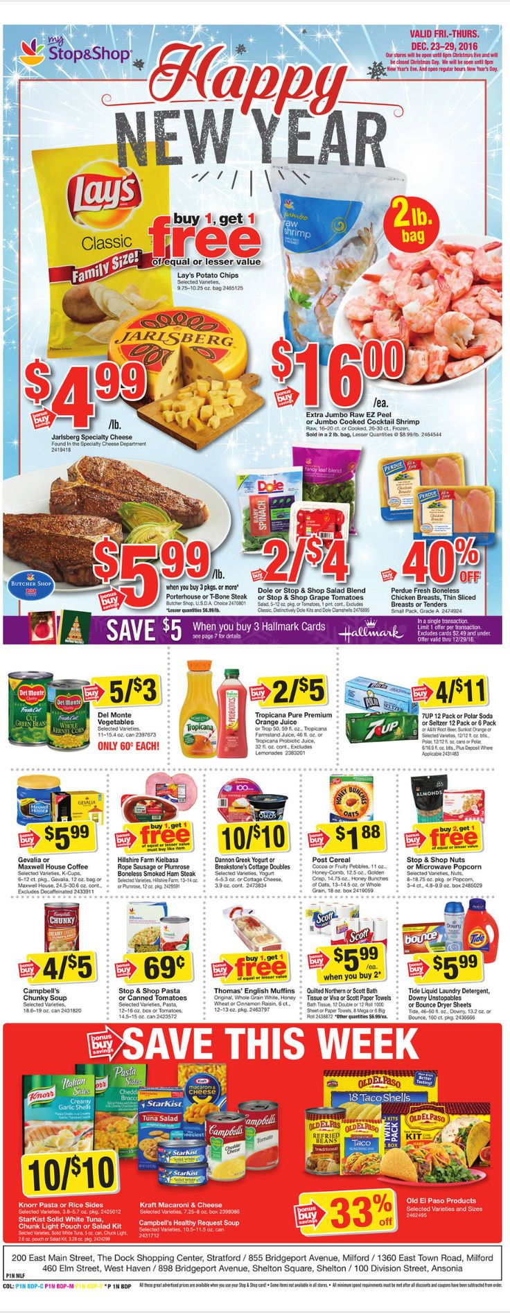 Stop and Shop Circular December 23 - 29, 2016 - http://www.olcatalog.com/grocery/stop-and-shop-circular.html