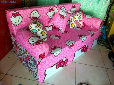 Sofa bed inoac hello kitty pita posisi sofa inoac
