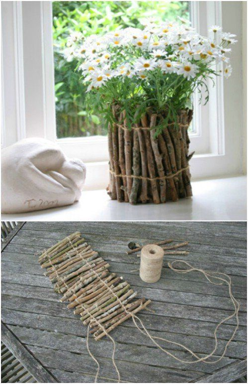 25 Cheap And Easy DIY Home And Garden Projects Using Sticks And Twigs  25 Cheap And Easy DIY Home And Garden Projects Using Sticks And Twigs – Page 2 of 2 – DIY & Crafts The post 25 Cheap And Easy DIY Home And Garden Projects Using Sticks And Twigs appeared first on Woman Casual.