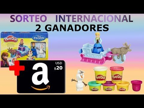#Sorteo #Internacional - Frozen de Disney Aventura en Trineo + Amazon Tarjeta de Regalo - YouTube #concurso