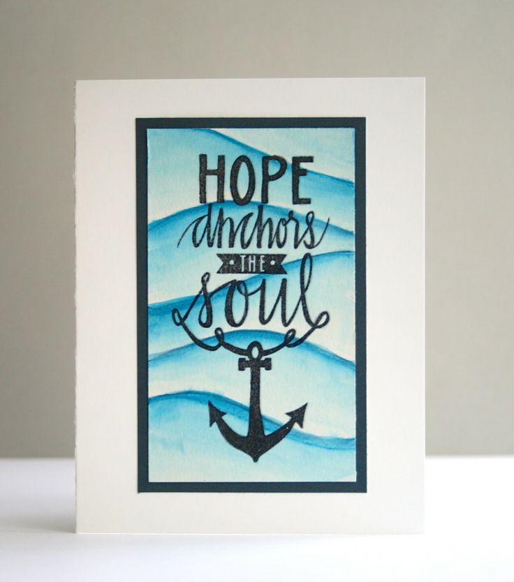For Neat & Tangled February Release, Hope Anchors