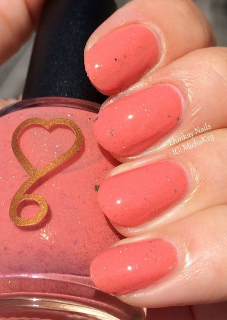 25+ Best Ideas About Peach Nails On Pinterest
