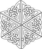 celtic knots printable coloring pages - Celtic Knot Coloring Pages