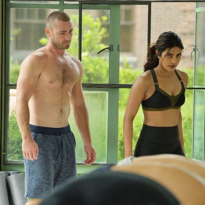 Jake McLaughlin and Priyanka Chopra. Ryan Booth and Alex Parrish. Quantico Season 2 #Ralex