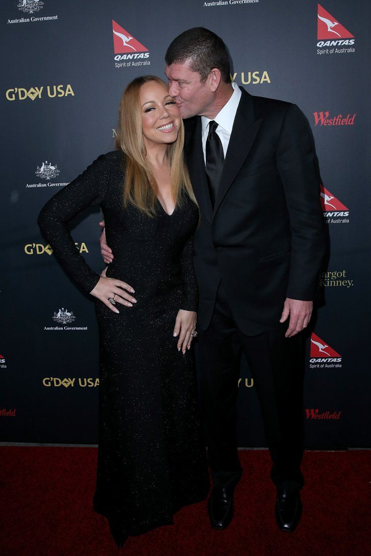 Pin for Later: 27 Engaged Celebrity Couples We Can't Wait to See Tie the Knot Mariah Carey and James Packer