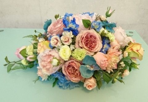 Peach X Sky Blue 結婚車花佈置 - BLOG - ElaineWai - ESDlife WOW