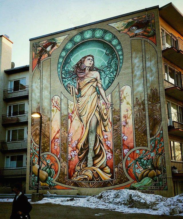Impresionantes murales que te hacen ver edificios ordinarios, de una manera completamente diferente; gracias a A'shop Crew.