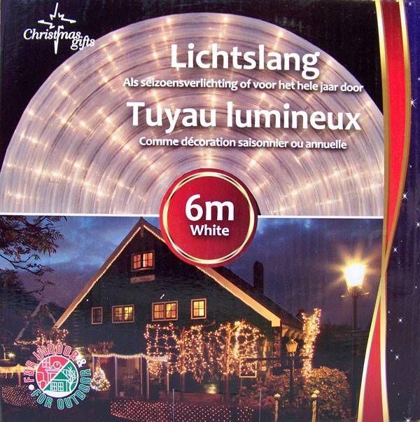 Lichtslang Wit (6M) #kerst #kerstmis #lichtslang #verlichting