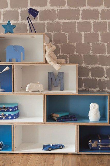 Clever Crates - Kids' Bedroom Ideas - Childrens Room, Furniture, Decorating (houseandgarden.co.uk)
