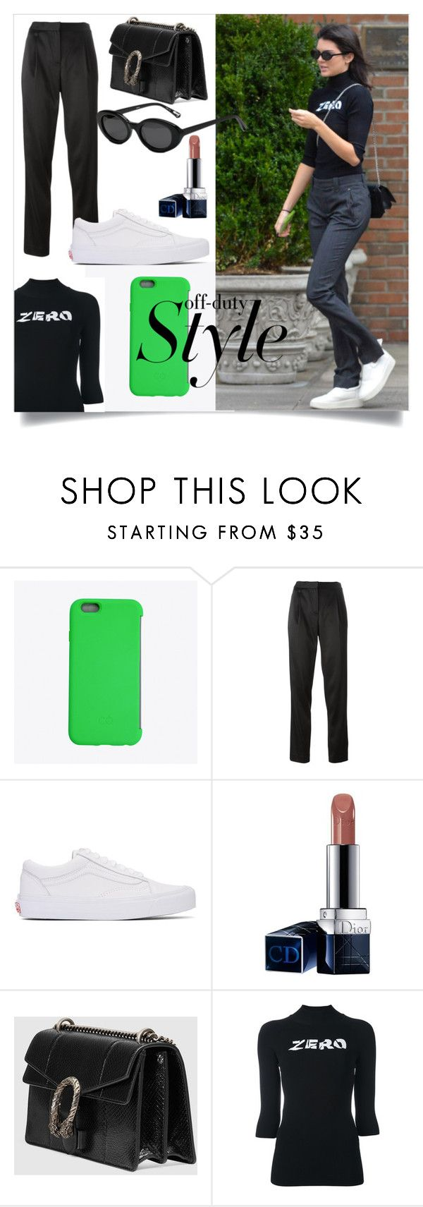 """off-duty Style"" by slavulienka on Polyvore featuring C6, T By Alexander Wang, Vans, Christian Dior, Gucci and Alyx"