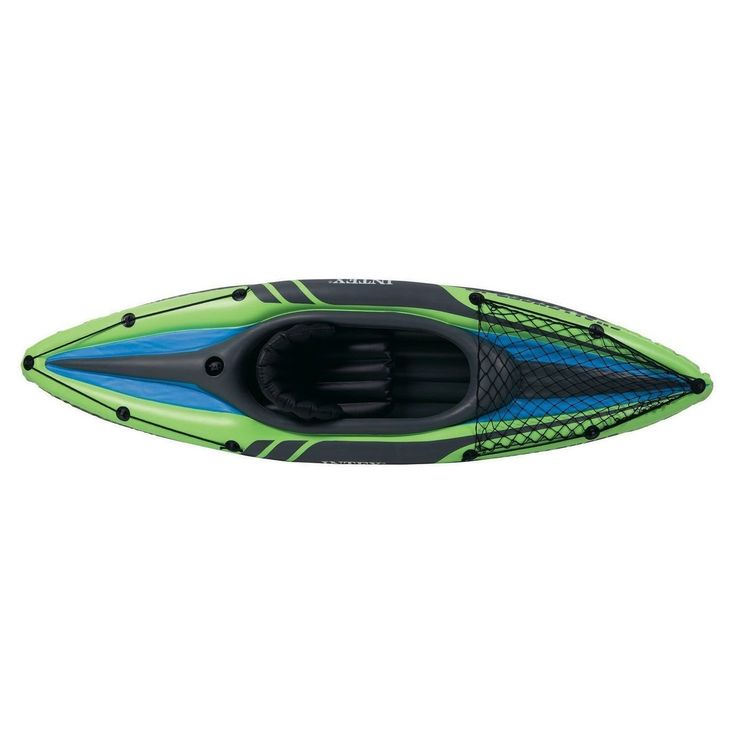 Intex Challenger K1 Kayak, 1-Person Inflatable Kayak Set with Aluminum Oars and High Output Air Pump : http://amzn.to/2twg8jZ