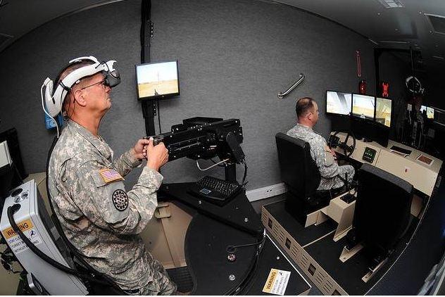 military training - virtual reality 2