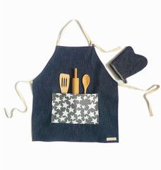 love discovering these apron sets at Playtime! (From Odette Williams)