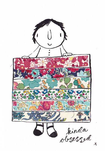 i NEED this print!!!! #liberty #quilts #obsessed