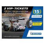 15. Geburtstag: ReifenDirekt.ch verlost gemeinsam mit Michelin VIP-Karten für das legendäre 24-Stunden-Rennen von Le Mans