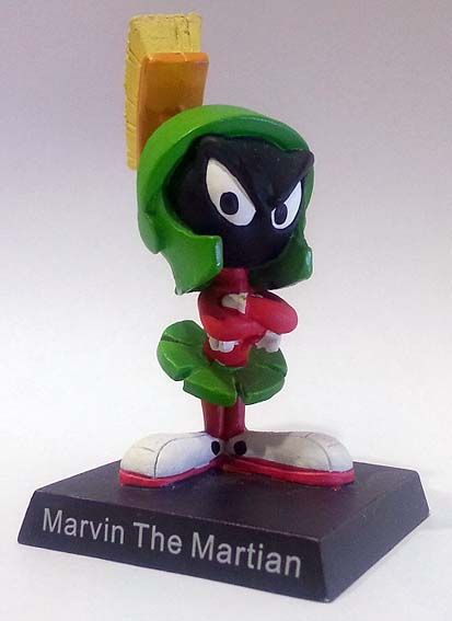 "Marvin il marziano, numero 8 della ""Looney Tunes Collection"" (2012) #Miniatures #LooneyTunes #MarvinTheMartian"