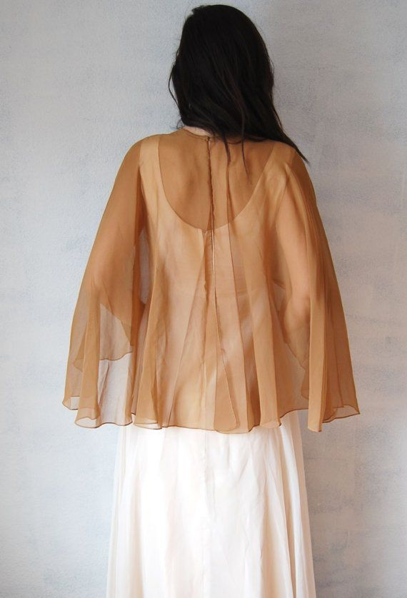 vintage EMMA DOMB dress/  double layered by vintagemarmalade, $129.50