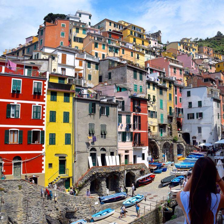 Riomaggiore, Cinque Terre , Italy