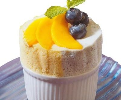 Mango Souffle Recipe by Shireen Anwar | RecipesFab.com