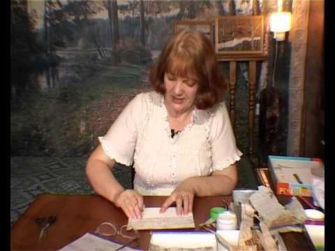 Мастер-класс Раисы Криницкой: картины из бересты, часть 1 - YouTube