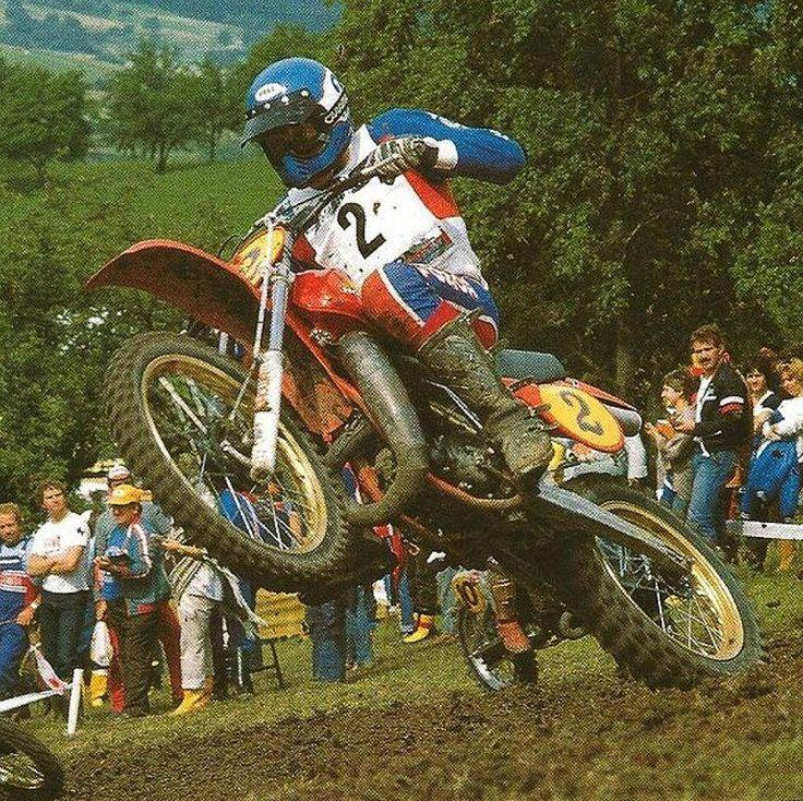 1980 Roger DeCoster | Moto | Pinterest