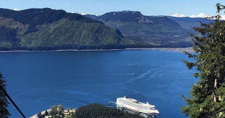 Les croisières Norwegian Cruise Line à découvrir chez Seagnature   #NorwegianPearl the first ship ever to dock at Icy Strait Point in Hoonah Alaska. by norwegiancruiseline https://www.instagram.com/p/BFZcOPmoqO4/ #croisière #vacances #voyage #cruisenorwegian #norwegiancruiseline #bateau