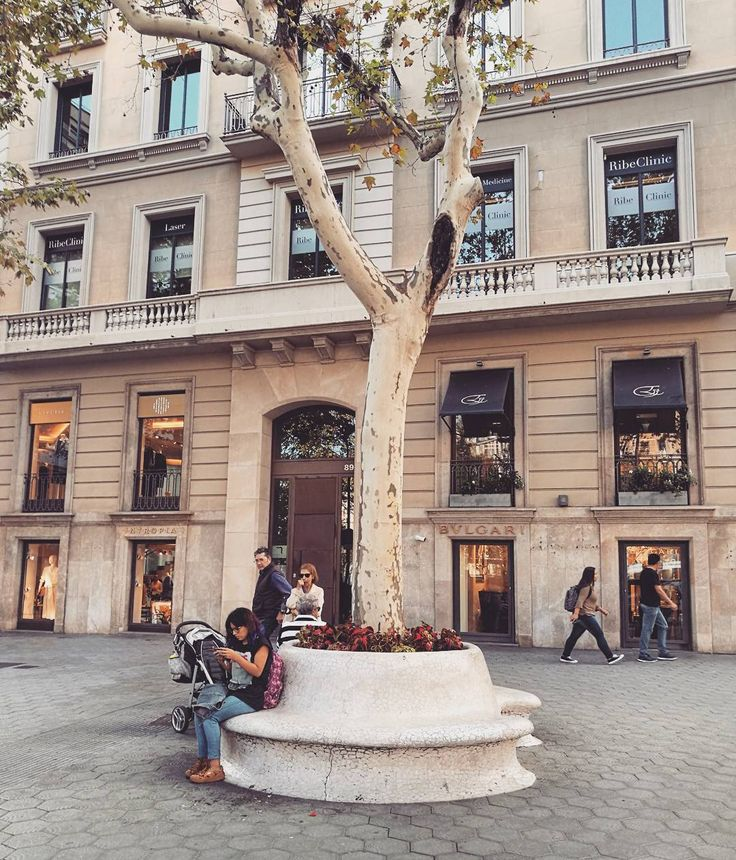 Barcelona has such beautiful squares