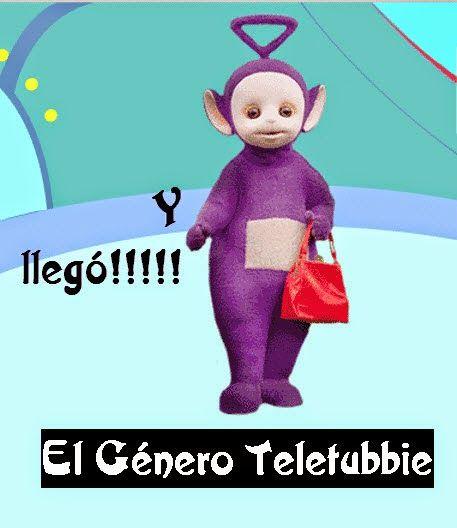 Y llegó!!!!! El género Teletubbie http://cercaalamedianoche.blogspot.com/2014/04/y-llego-el-genero-teletubbie.html