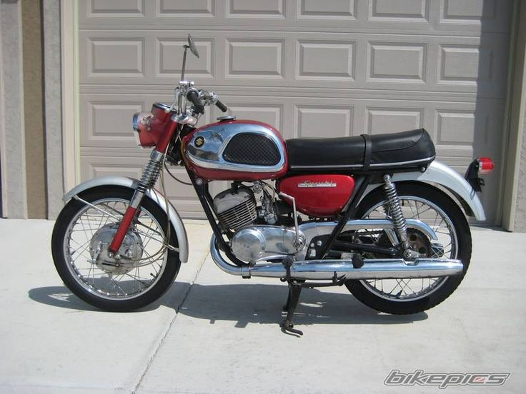 And 1967 suzuki t20 hustler happens