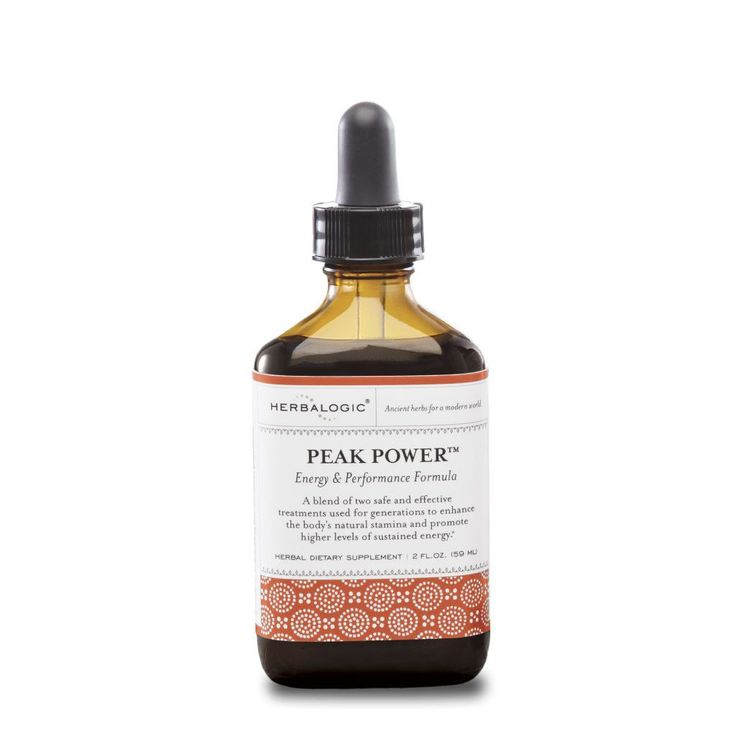 Peak Power™ Herb Drops: Energy and Adrenal Support
