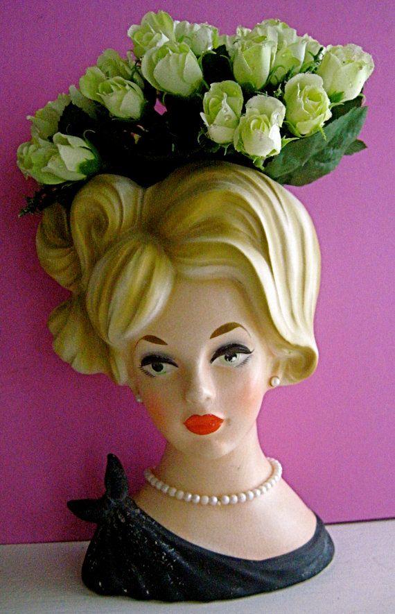 Vintage Lady Head 13
