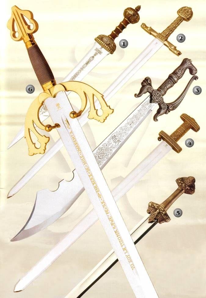 Espadas Vikingas, espada Romana, espada Carlomagno, espada Tizona del Cid