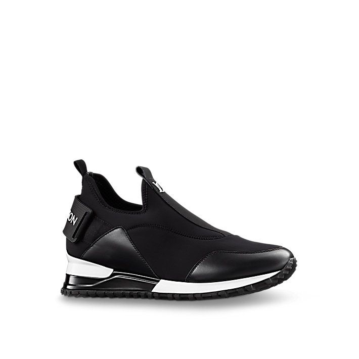 Discover Louis Vuitton Run Away Sneaker This on-trend sneaker features an elaborate outsole with a hidden fusbet for extra height.