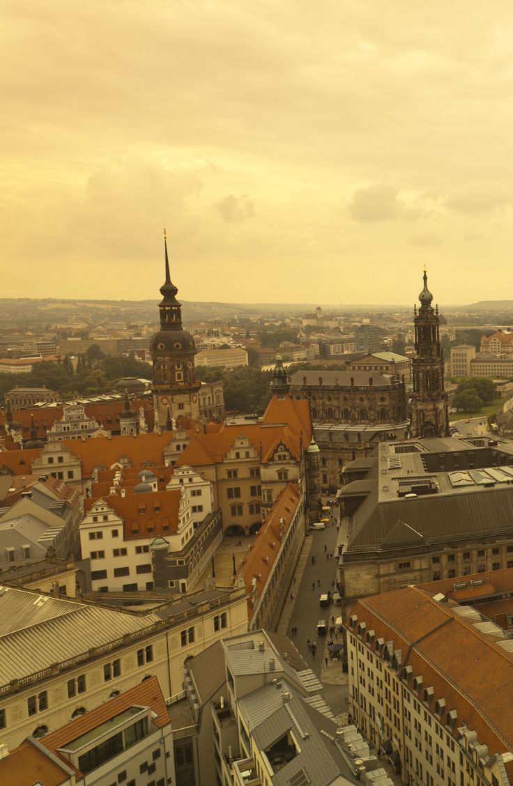 The view from the Frauenkirche, Dresden