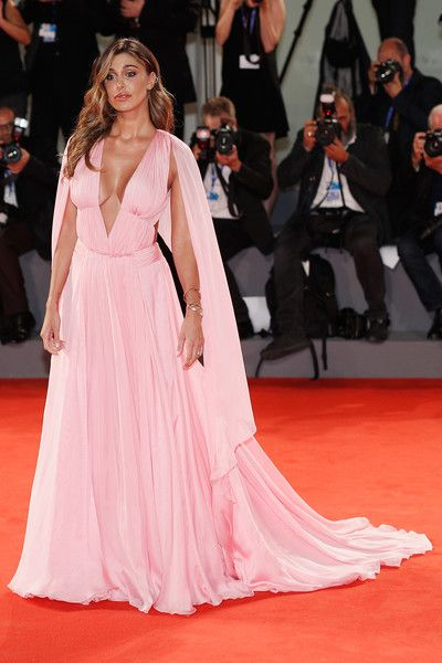 Belen Rodriguez attends the premiere of 'Arrival' during the 73rd Venice Film…