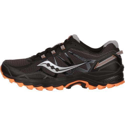 Saucony Men's Excursion TR11 Trail Running Shoes (Black/Orange, Size 10) - Men's Running Shoes at Academy Sports