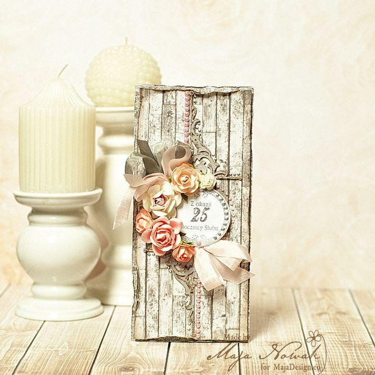 Kartka na rocznicę ślubu. polandhandmade.pl #polandhandmade , #scrapbooking, #rocznica