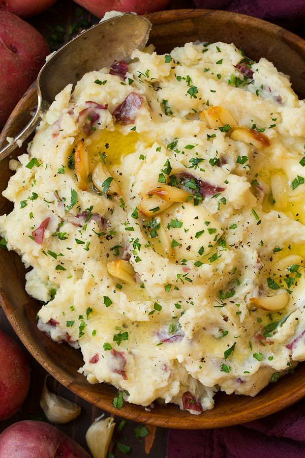 Roasted Garlic Mashed Potatoes | Cooking Classy
